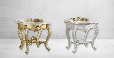 mueble de baño barroco