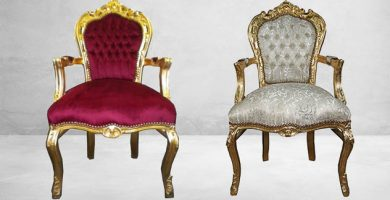 sillon barroco