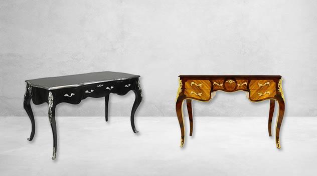 escritorio barroco