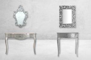 mueble recibidor barroco