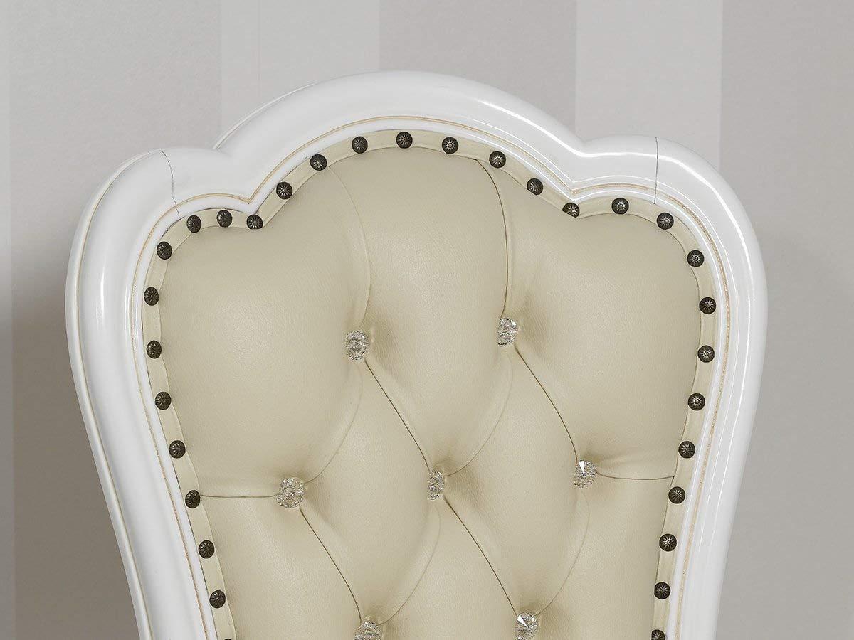 Silla barroca champan